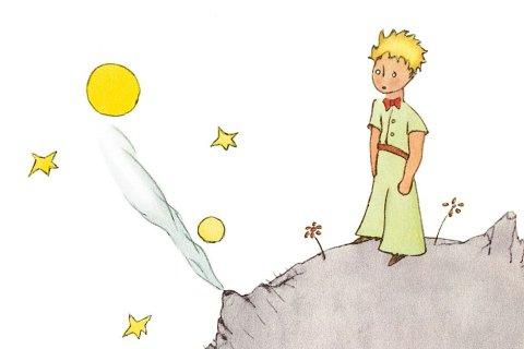 Buchcover Kleiner Prinz (Ausschnitt)