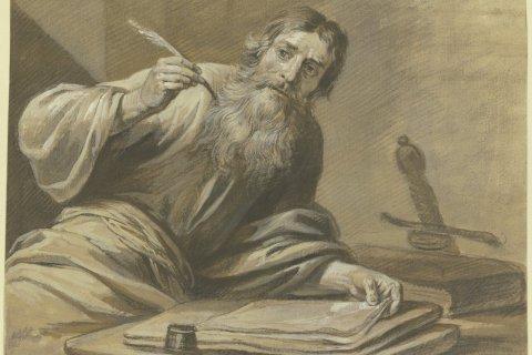 Jan Luyken: Der Apostel Paulus schreibend