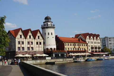 Fischerdorf Kaliningrad