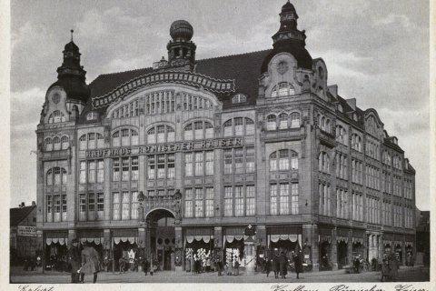 Kaufhaus Römischer Kaiser Erfurt in den 1920er Jahren