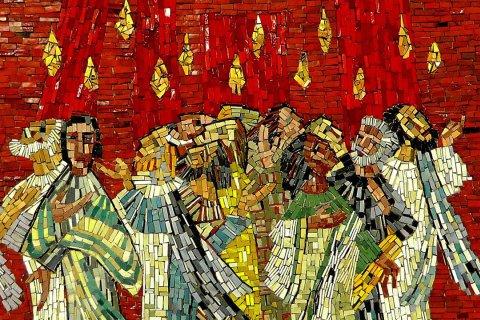 Mosaik in der Konstantin-Basilika Trier
